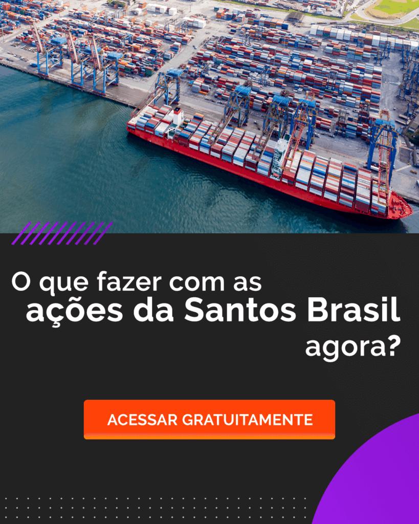 Ações da Santos Brasil - STBP3 - Relatório Levante