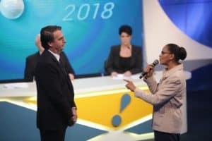 Levante Ideias - Marina Silva Rede e Jair Bolsonaro PSL
