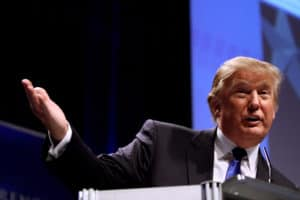 Donald Trump, ex-presidente americano