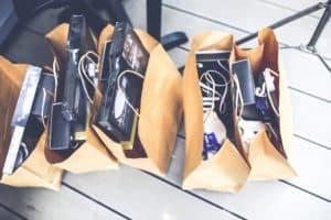 Levante Ideias - Brown Shopping Bags