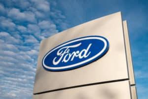 Logo Ford - E Eu Com Isso - Levante