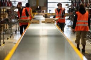 Funcionários da Amazon - Levante Ideias