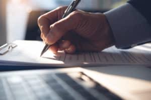 Assinatura de documento - fechamento