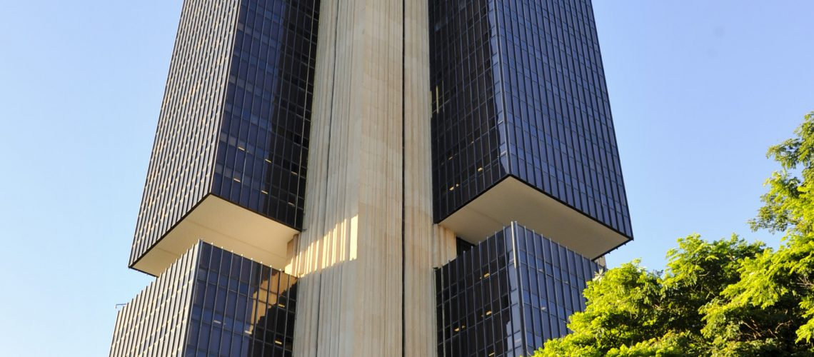 Edifício sede do Banco Central do Brasil.  Foto: Jonas Pereira/Agência Senado