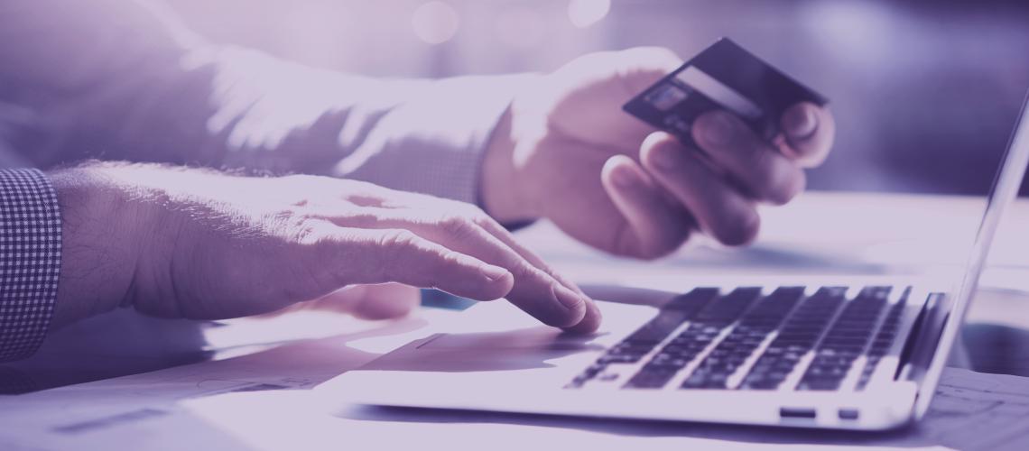 Usando o cartão de crédito