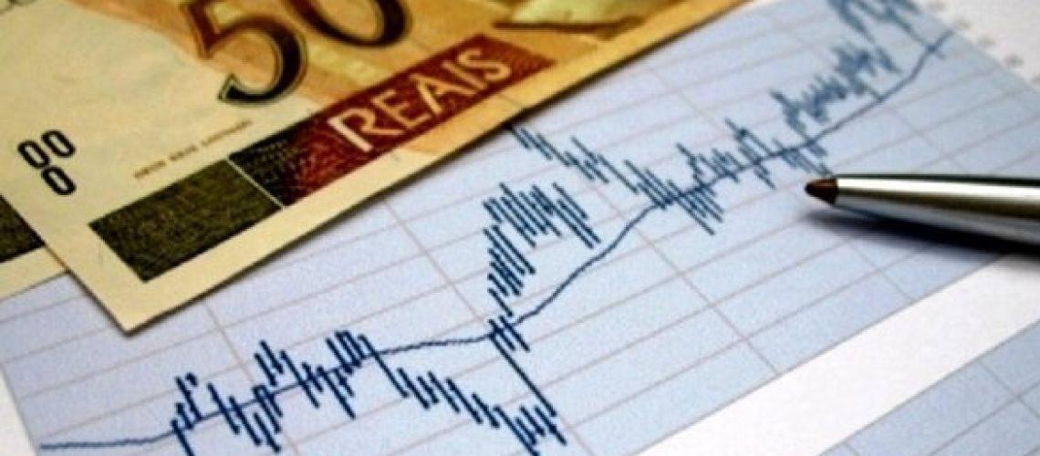 Gráfico com Dinheiro