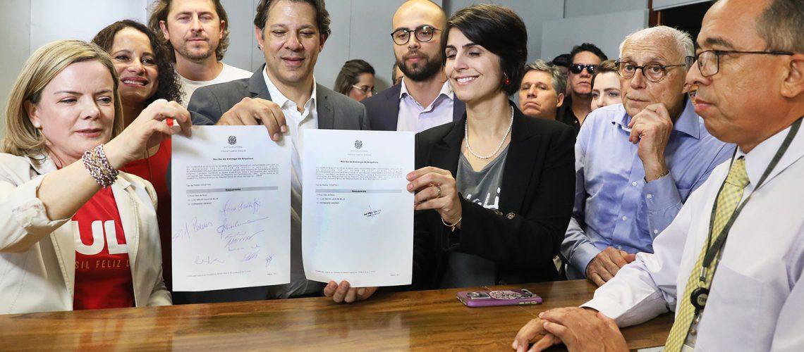 Registro de candidatura de Lula