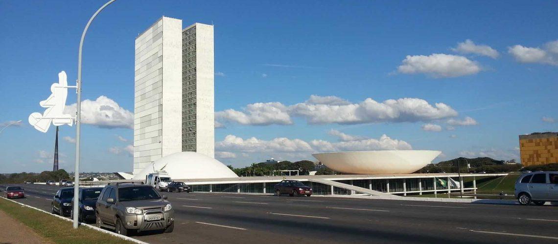 Foto panorâmica de Brasília