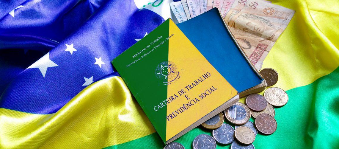 Carteira Verde Amarela