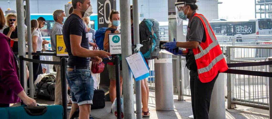 Aeroporto UK restrições