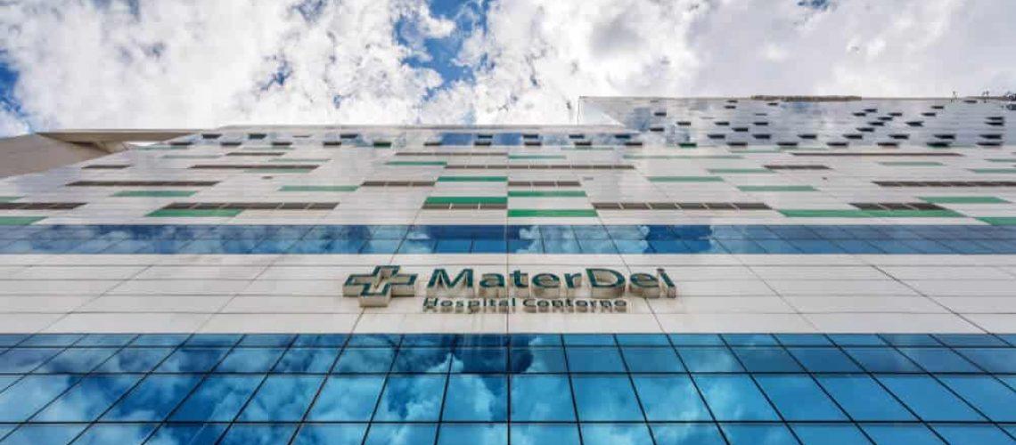 Mater Dei - Entrada de Hospital em Belo Horizonte