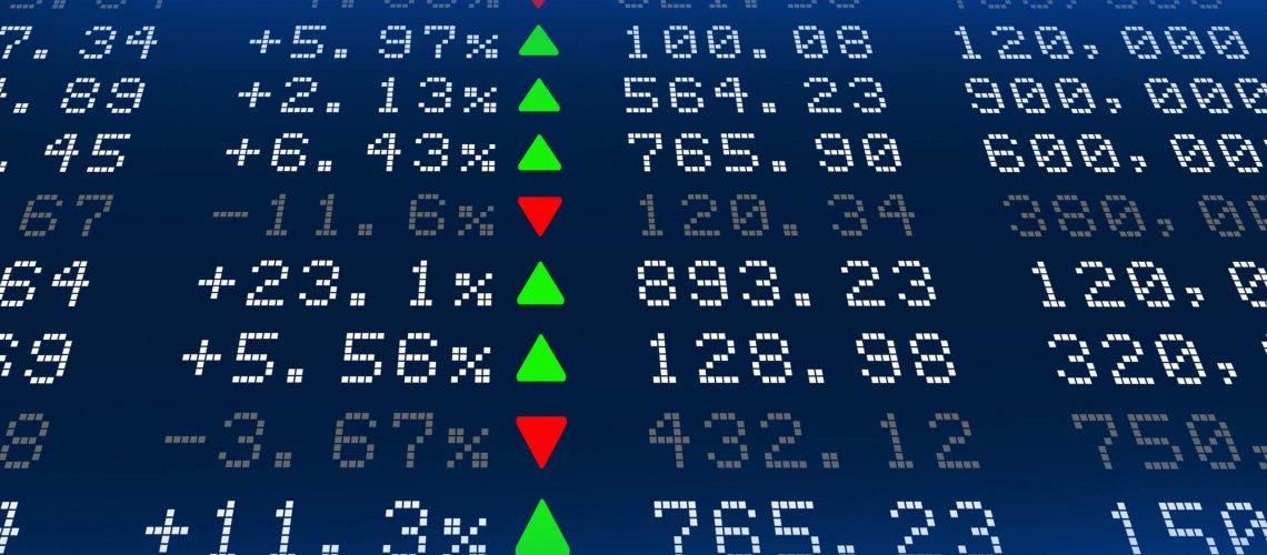 Digital,Stock,Exchange,Panel