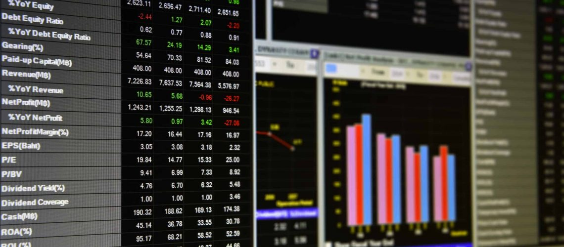 Charts,Of,Financial,Instruments,For,Technical,,Fundamental,And,Quantitative,Analysis